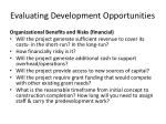 evaluating development opportunities3