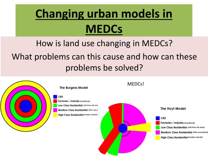 changing urban models in medcs n.