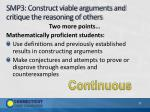 smp3 construct viable arguments and critique the reasoning of others1