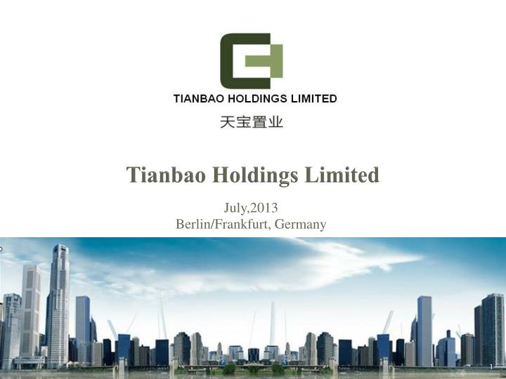 tianbao holdings limited n.