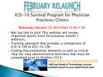 icd 10 survival program for physician practices clinics