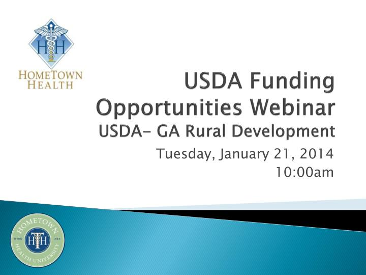 usda funding opportunities webinar usda ga rural development n.