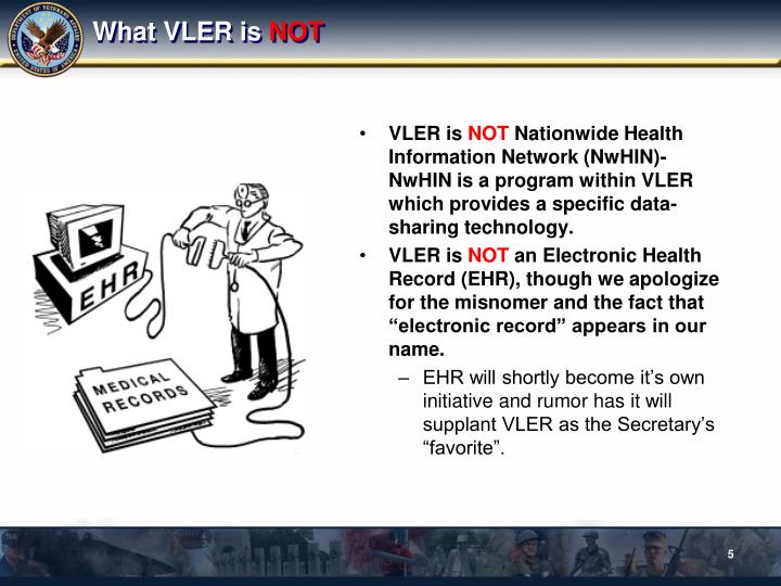 What VLER is