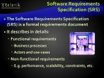 software requirements specification srs