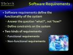 software requirements1