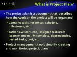 what is project plan