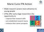 marie curie itn action