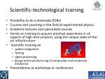 scientific technological training