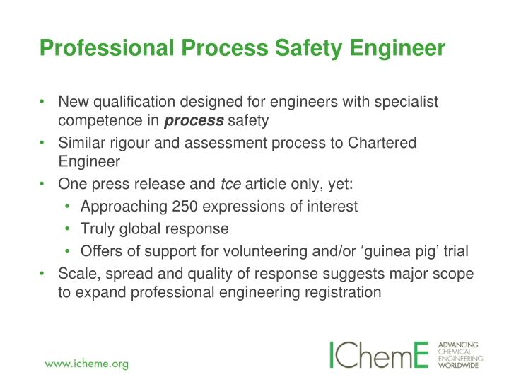 Professional Process Safety Engineer
