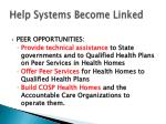 help systems become linked1