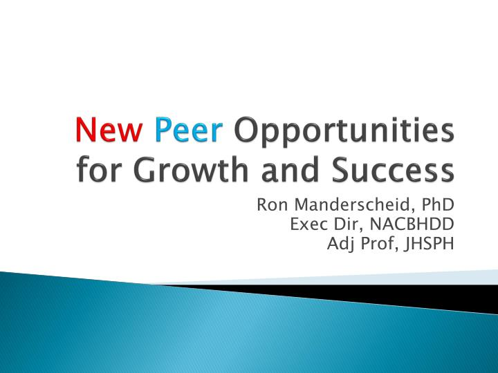 new peer opportunities for growth and success n.