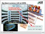 big data in science lhc at cern1