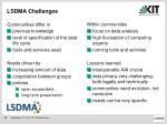 lsdma challenges
