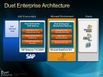duet enterprise architecture