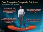 duet enterprise composite solutions rapid development approach