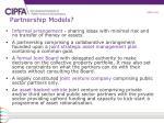partnership models