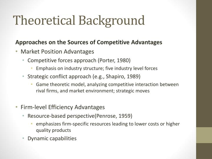 archetypes strategic management and firm specific advantages Linked to the strategic management of these relational archetypes  and firm-specific human capital  of the firm strategic management.