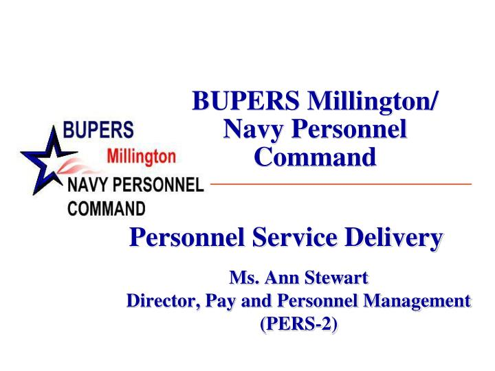 bupers millington navy personnel command n.