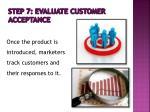 step 7 evaluate customer acceptance