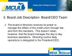 3 board job description board ceo team