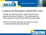 3 board job description board ceo team3