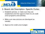 3 board job description specific duties1