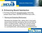 5 enhancing board satisfaction6