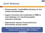 joint ventures1