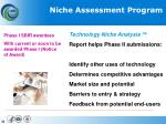 niche assessment program