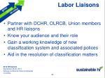 labor liaisons