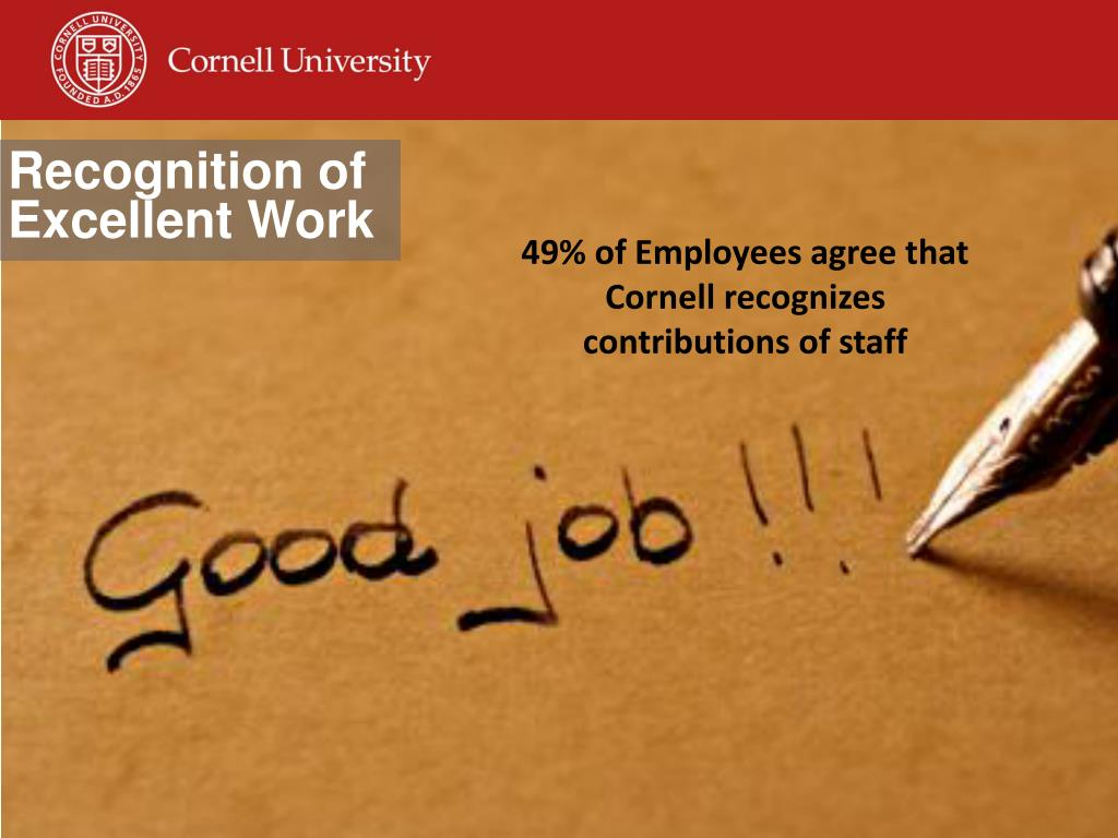 Ppt Response To The Employee Survey Recommendations
