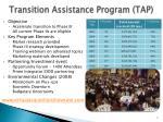 transition assistance program tap