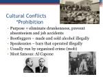 cultural conflicts prohibition