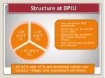 structure at bpiu