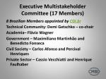 executive multistakeholder committee 17 members