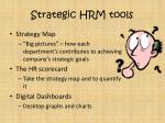 strategic hrm tools