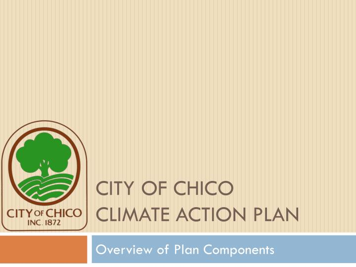 city of chico climate action plan n.