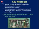 key messages1