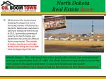 north dakota real estate boom