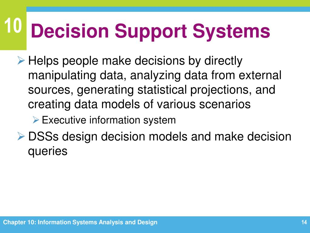 Ppt Chapter 10 Information Systems Analysis And Design Powerpoint Presentation Id 1659810