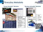 everyday metadata