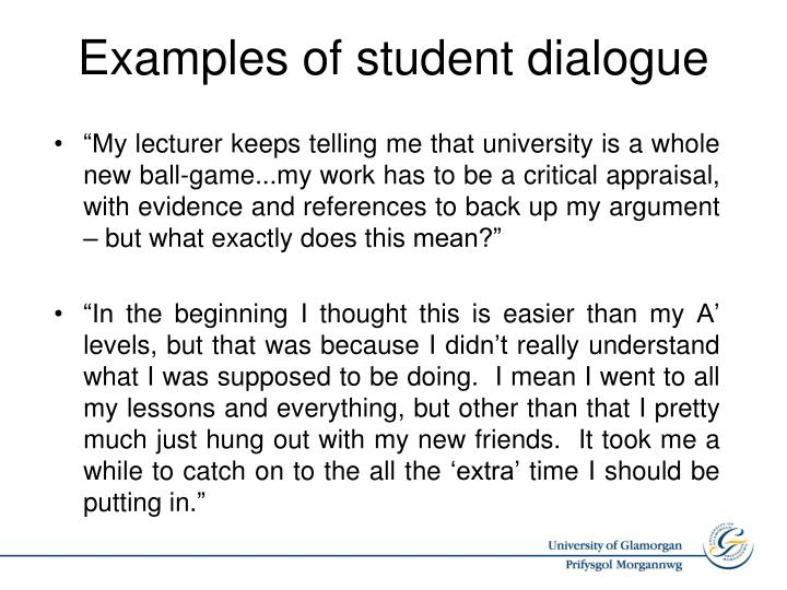 """My lecturer keeps telling me that"