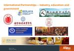 international partnerships industry education and government1