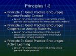 principles 1 3