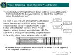 project scheduling step 5 determine project duration5