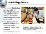 health regulations