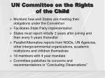 un committee on the rights of the child