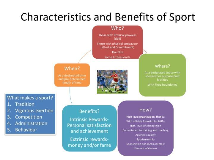 Characteristics and Benefits of Sport