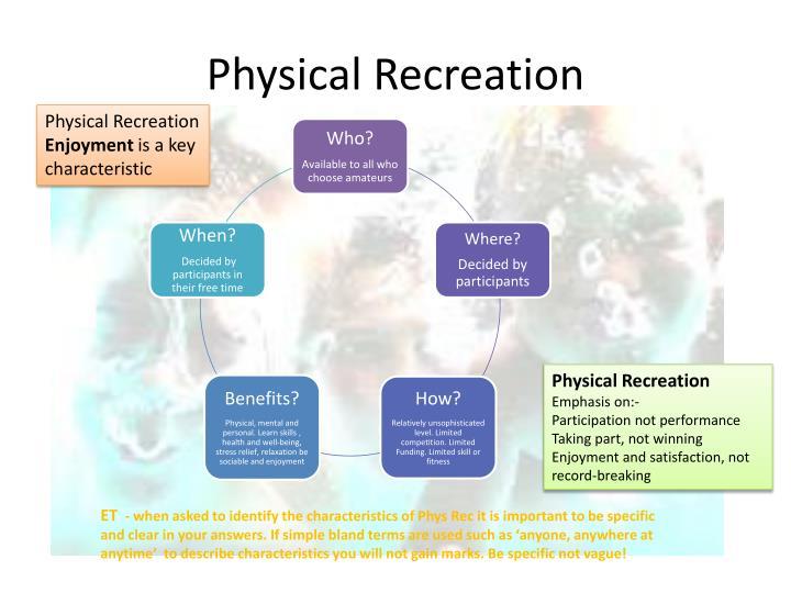Physical Recreation