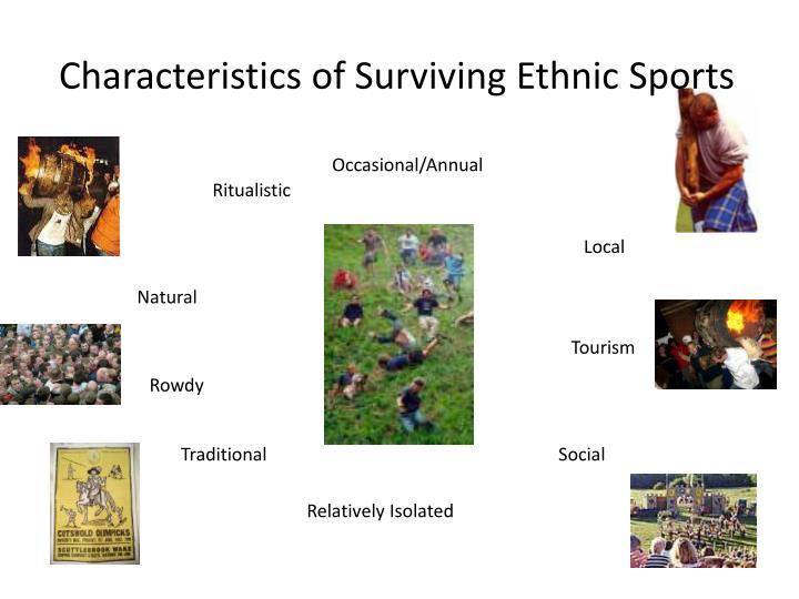 Characteristics of Surviving Ethnic Sports